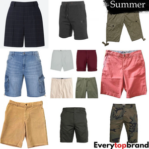 Second Hand Used Clothes 20 x Men's Shorts, Wholesale A+ Grade £2 Each
