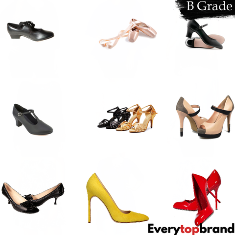 50 Kg Wholesale Second Hand Used ladies Shoes, B Grade £1.50 Per Kg