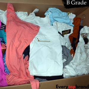 Second Hand Used Clothes Wholesale 50KG Re-Wearable Grade B kids All Season  £1.75 KG