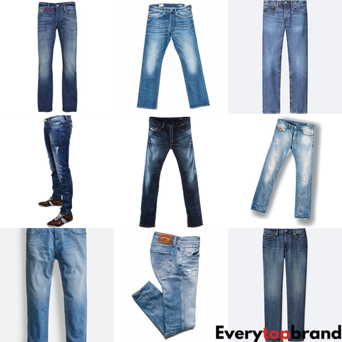 Second Hand Used Clothes 30 x Men's Jeans Grade A £2.50 Each - Everytopbrand.com