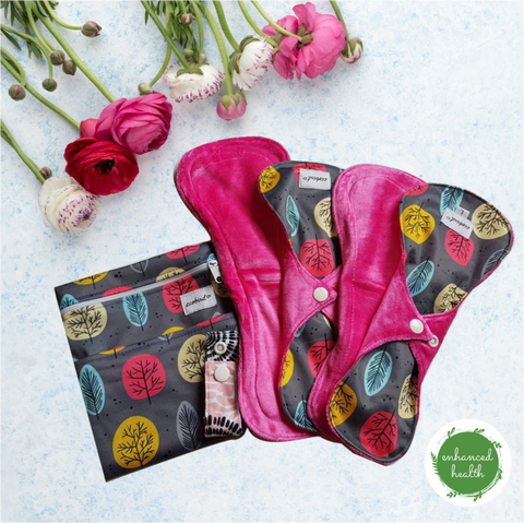 "INTRO MENSTRUAL PAD TRIAL PACK ""Limited Stock"""