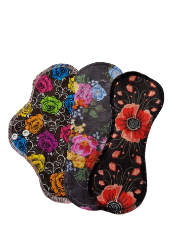 ECOBIRD MENSTRUAL PAD ~ Marvelous Moderate Set