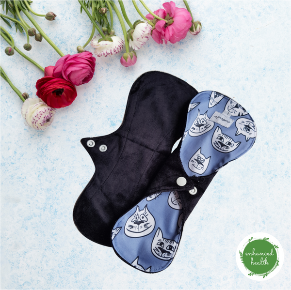 MENSTRUAL CLOTH PAD 'MEDIUM' TWIN PACK