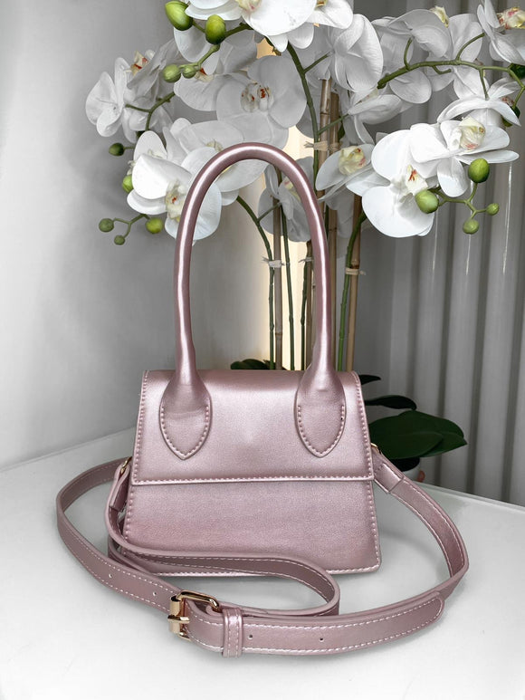 Emma Handle Mini Bag - Pink