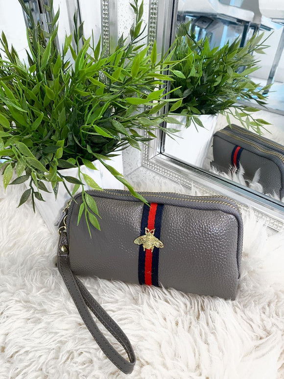 Nellie Bee Purse - Grey