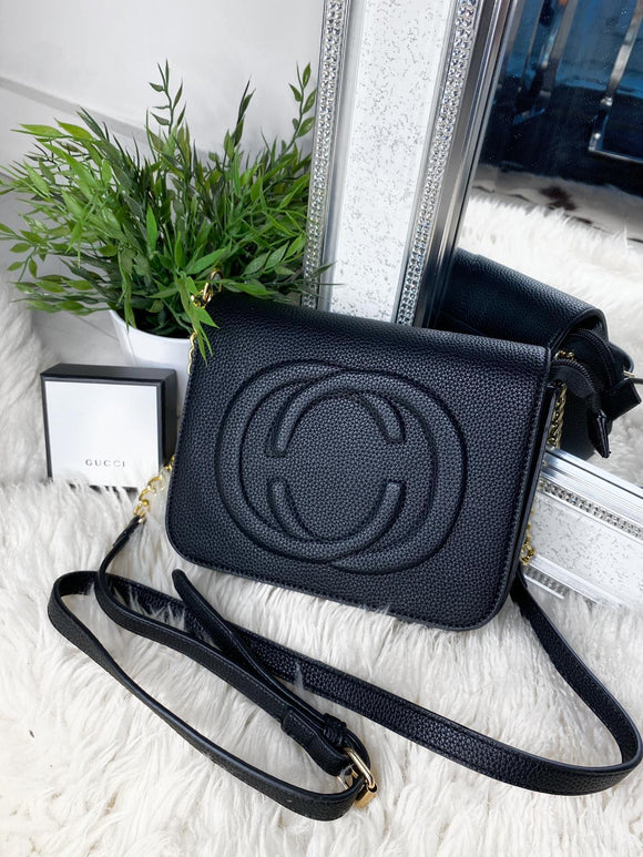 Georgia Crossbody Bag - Black