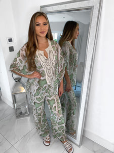 Kate Snake Trouser Two Piece