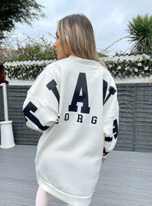 Atlanta Oversized Jumper - Cream
