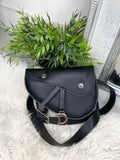 Kenzie Leather Bumbag - Black
