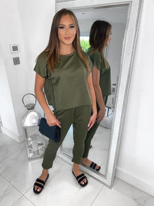 Sam Loungewear Set - Khaki