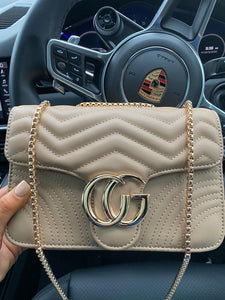Georgia Crossbody Marmont Bag - Camel