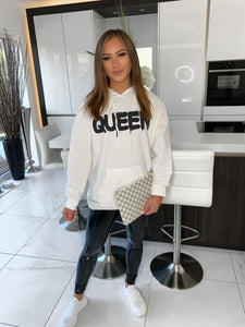 QUEEN Hoodie - White