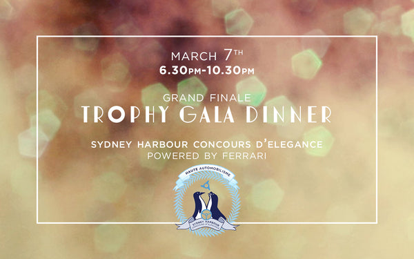 Trophy Gala Dinner - Grand Finale - March 7th, 2020