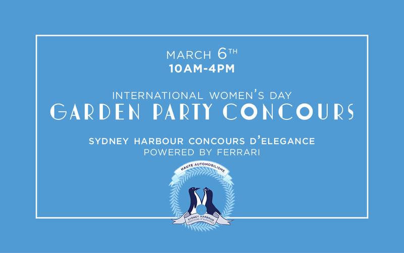 Friday Concours d'Elegance - March 6th, 2020