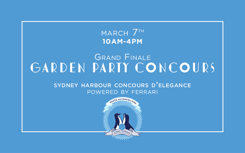 Saturday Concours d'Elegance - March 7th, 2020