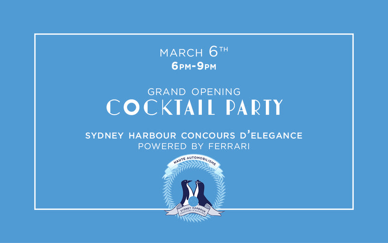 Cocktail Party - Grand Opening - March 6th, 2020