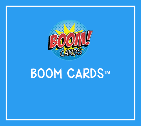 Boom Cards Digital Resources