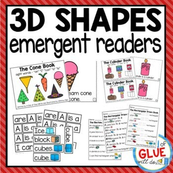 3D Shapes Emergent Reader with Activities Bundle