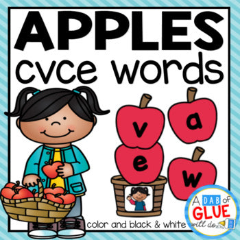 Apples CVCE Word Building Activity