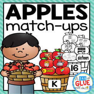 Apples Match-Ups Bundle