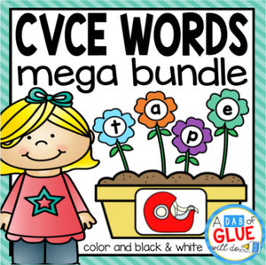 CVCE Word Building Activity Mega Bundle