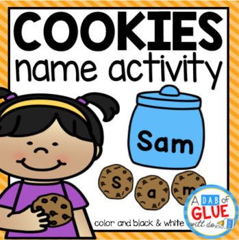 Cookies Editable Name Activity