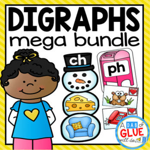Digraph Match-Ups Mega Bundle