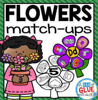 Flowers Match-Ups Bundle