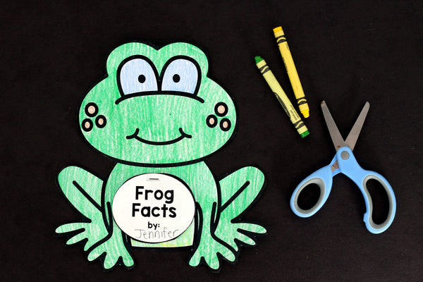 Engage your class in an exciting hands-on experience learning all about frogs! This Frog Animal Study is perfect for science in Preschool, Pre-K, Kindergarten, First Grade, and Second Grade classrooms and packed full of inviting science activities. Students will learn about the difference between frogs and toads, animals that live in the freshwater