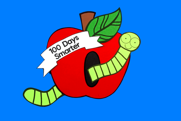 100th Day of School Activities: Paper Craft Activity and Creative Writing