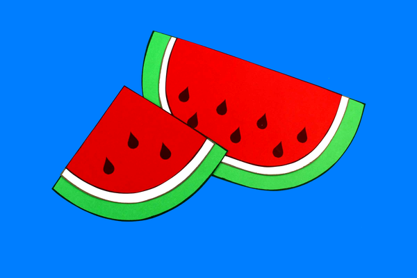Watermelon Paper Craft Activity and Creative Writing