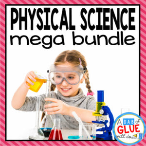 Kindergarten Science Bundle Physical Science