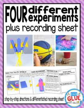 Kindergarten Science Experiments for June
