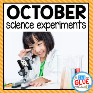 Kindergarten Science Experiments for October