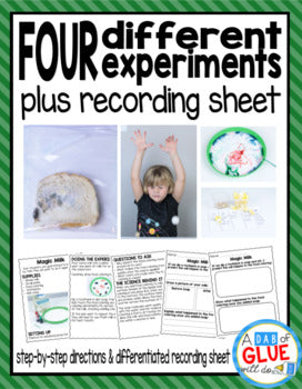 Kindergarten Science Experiments for September