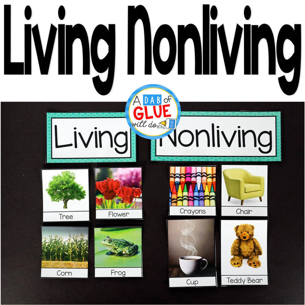 Engage your students in exciting science lessons about living and nonliving things. This science lesson is perfect for science centers in Kindergarten, First Grade, and Second Grade classrooms and packed full of fun science activities. This document allows your class to have a hands-on experience learning about living and nonliving things.
