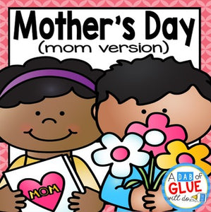 Mother's Day Card Craft - Flower Gift