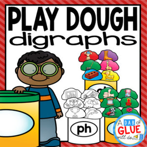 Play Dough Digraph Match-Up
