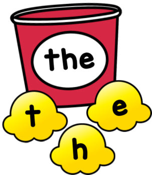 Popcorn Editable Sight Word Activity