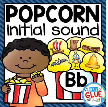 Popcorn Initial Sound Match-Up