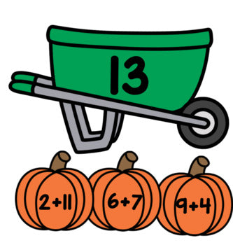 Pumpkins Editable Addition and Subtraction Activity