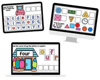 SeeSaw Digital Mega Bundle for SeeSaw Distance Learning {Pre-K, K, & 1)