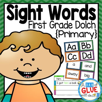 Sight Word Activities, Centers, and Word Wall Dolch First Grade {Primary}
