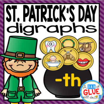 St. Patrick's Day Digraph Match-Up
