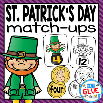St. Patrick's Day Match-Ups Bundle