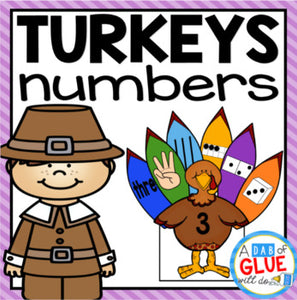 Turkeys Number Match-Up