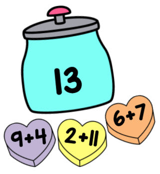 Valentine's Day Editable Addition and Subtraction Activity