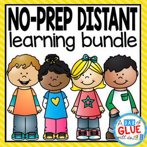 No-Prep Distant Learning Bundle