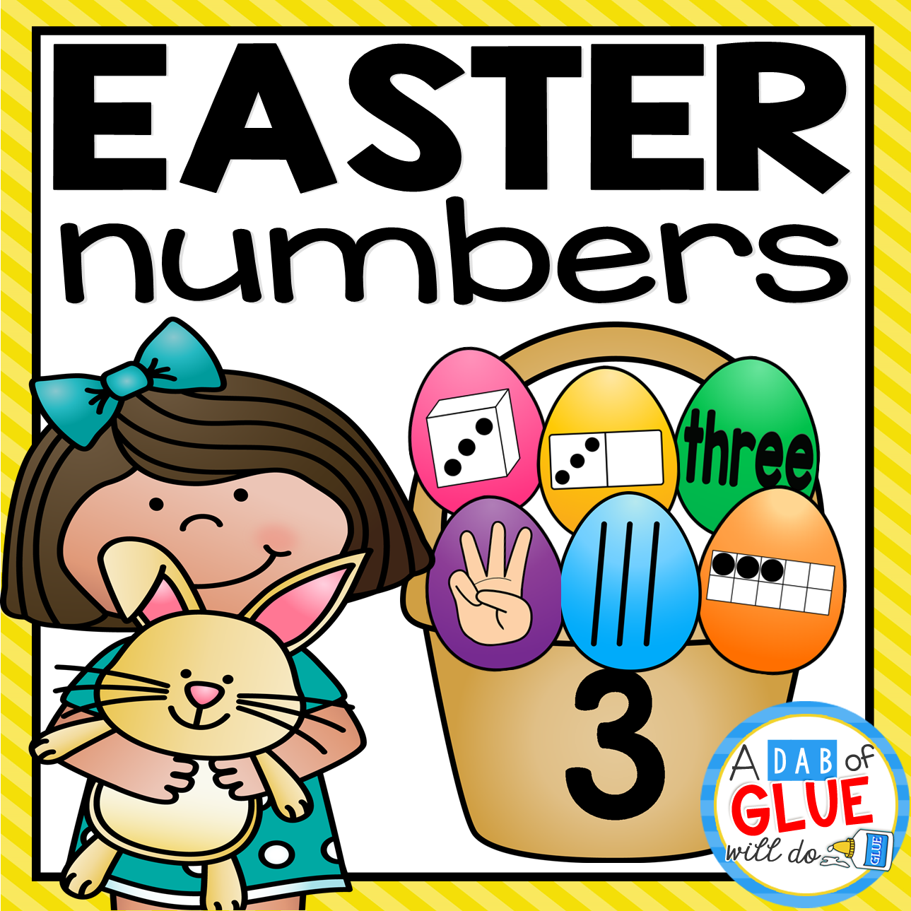Easter Number Match-Up