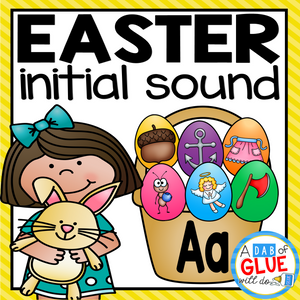 Easter Initial Sound Match-Up